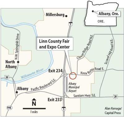 WVAE Albany map