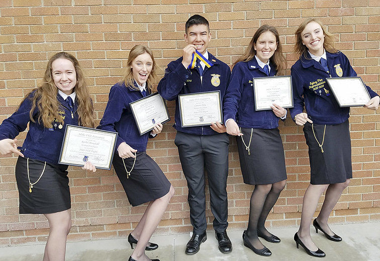 Meridian FFA chapter shines at state leadership conference