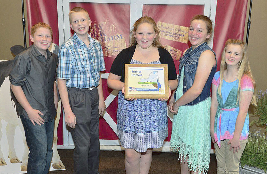 Washington youths win awards at Holstein convention