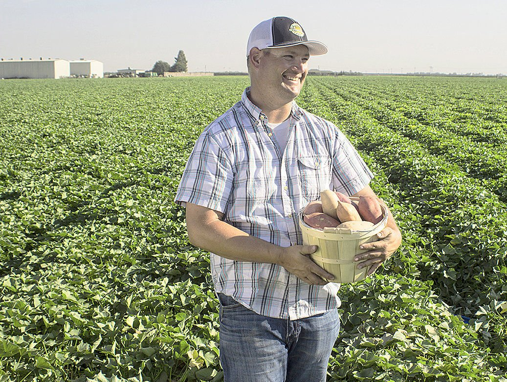 Sweet potatoes run in grower's family