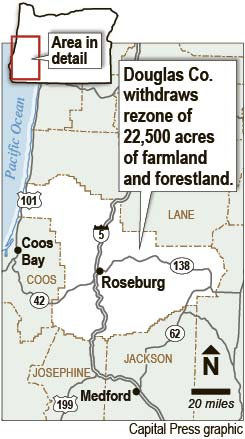 oregon s douglas county withdraws rural housing zone oregon