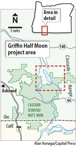 Griffin Half Moon vegetation project