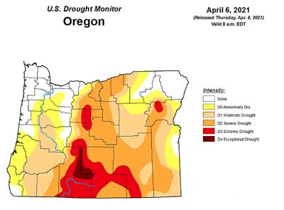 Oregon Drought Monitor
