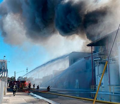 Darigold fire in Caldwell, Idaho