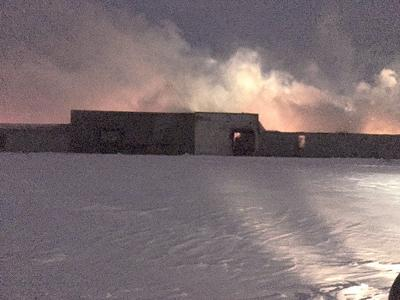 Company officials weigh options after fire destroys fresh potato facility