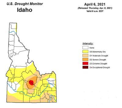Idaho Drought Monitor