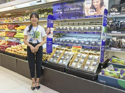 Vietnam blueberries