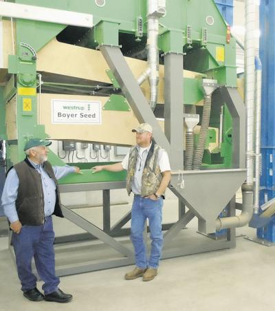 When it comes to seed cleaning, Boyer does it all