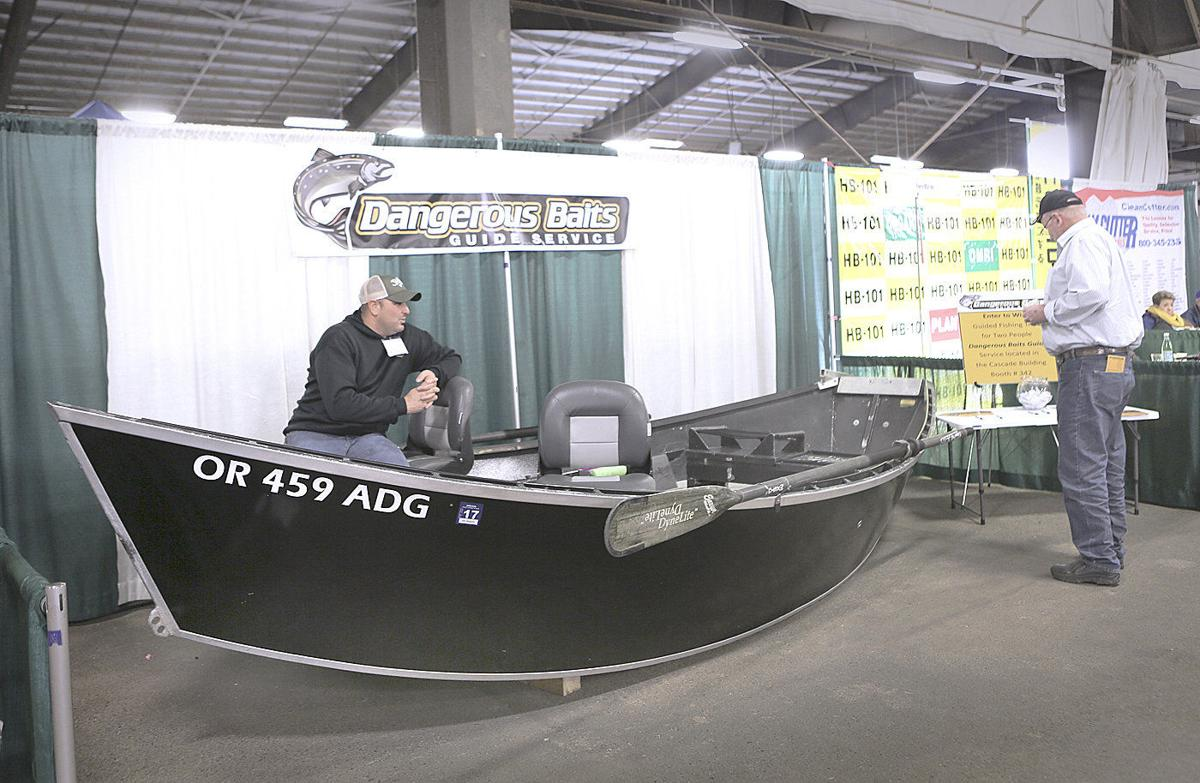 Exhibitor shares love of fishing with Expo attendees