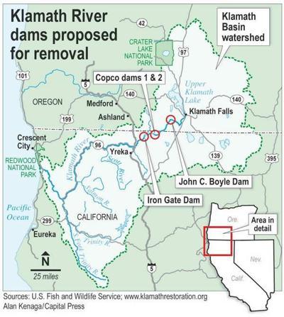 Some Oregon California Leaders Upset Over Klamath Dams California