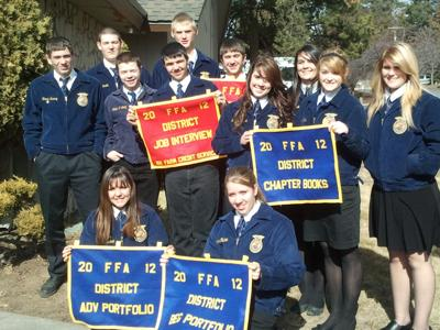 North Lake Competes at Central Oregon District Leadership Career Development Events
