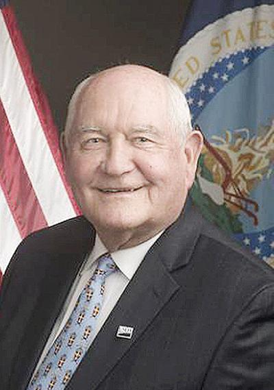 Secretary of Agriculture Sonny Perdue