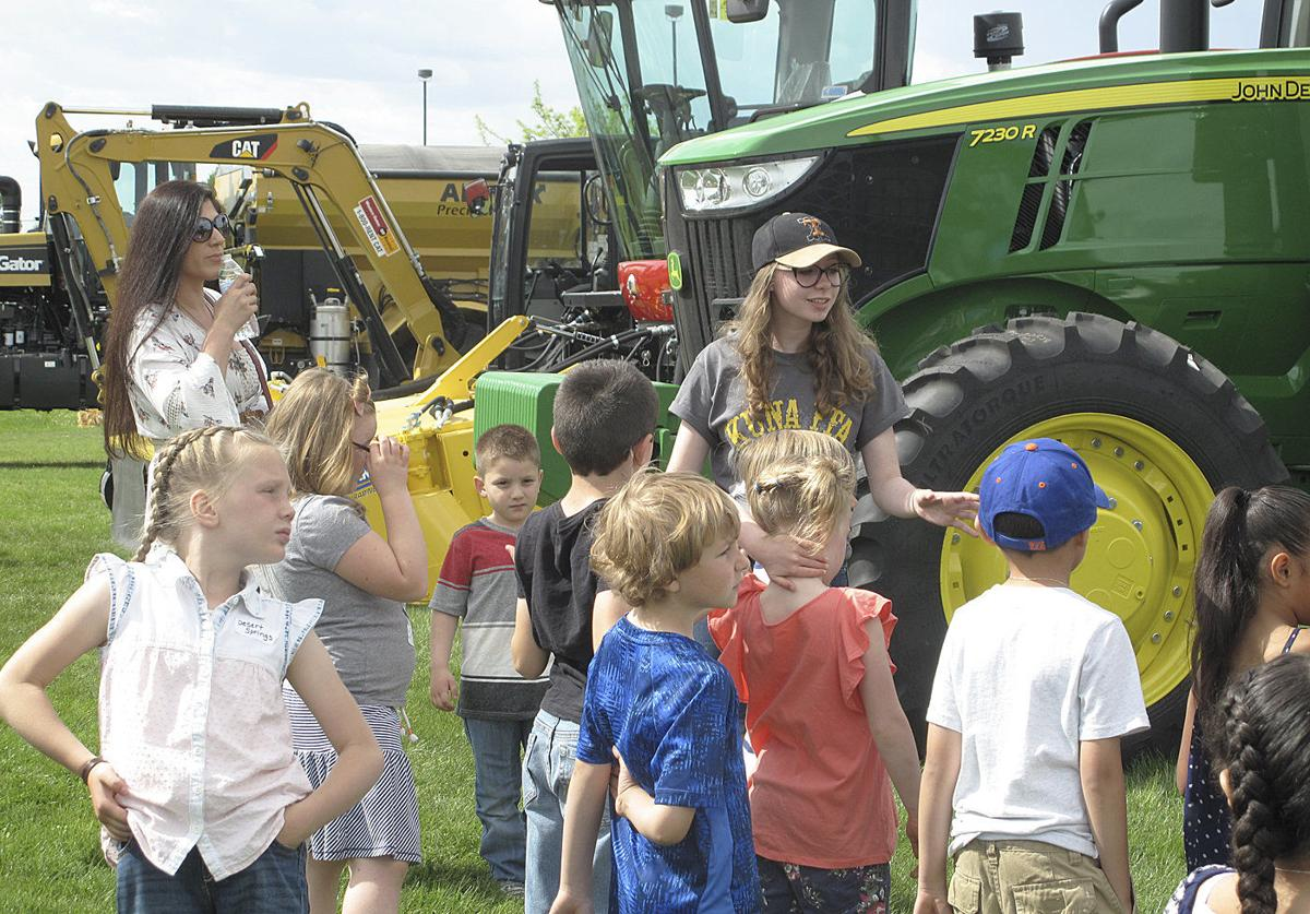 Kuna FFA expo gives thousands of students a glimpse of agriculture