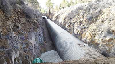 Piping to save water in Tumalo Irrigation District