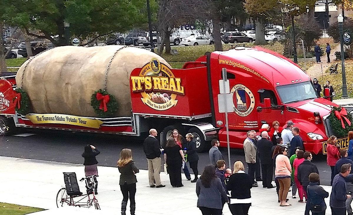 Thanksgiving shipments of Idaho potatoes up