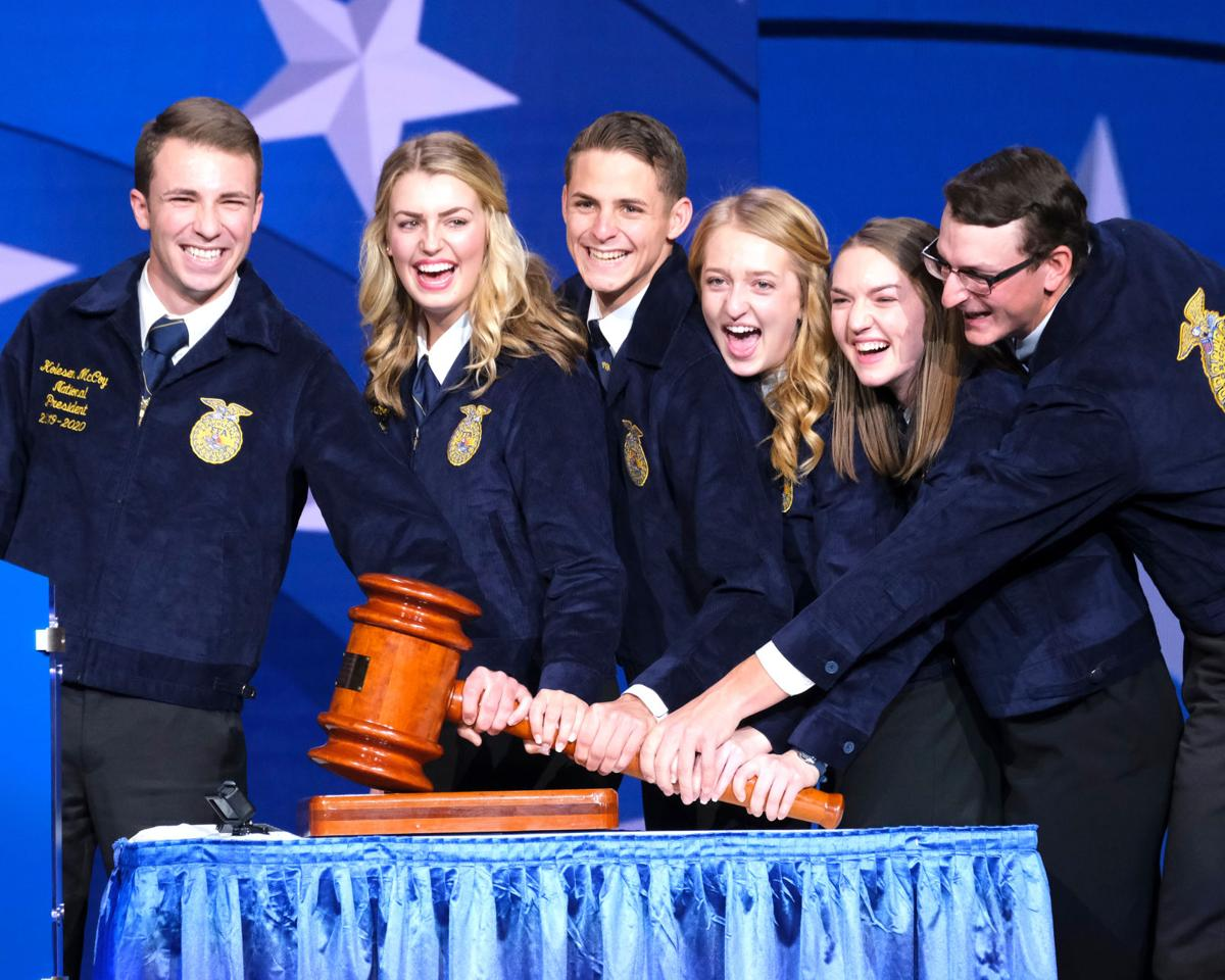 2019-20 National FFA officers