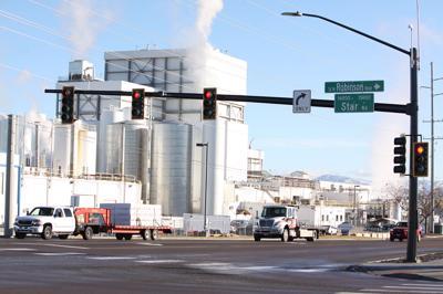 Idaho road improvements