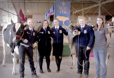 Scio FFA members pitch in to make Expo a success