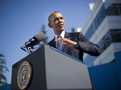 Obama says trade deal lets U.S. write the rules, not China