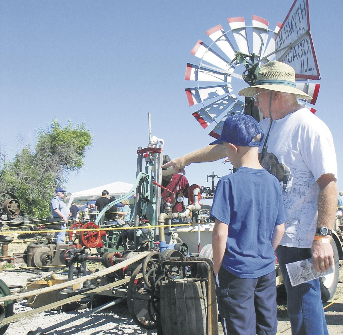Steam powers imagination at old-time machinery show