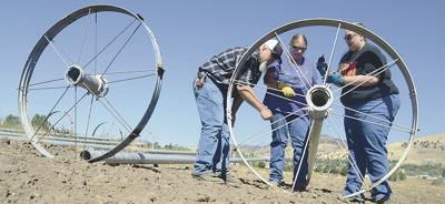 Klamath Community College gives ag students a head start