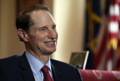 Wyden zips among issues, colleagues, re-election bid