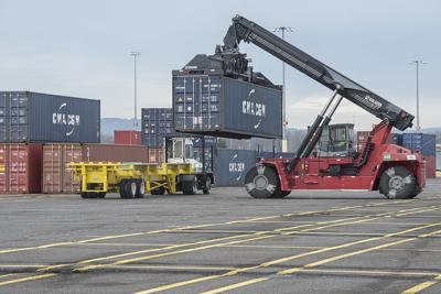 Container business grows at Portland intermodal facility
