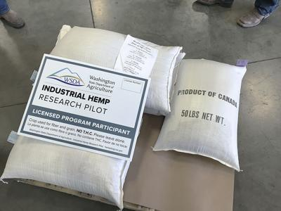 Hemp seed delivery