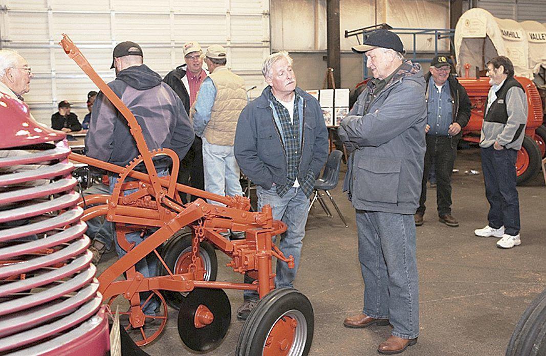 Antique equipment display pulls in crowds