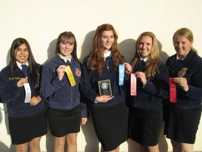 Templeton FFA Cooperative Marketing Team Wins