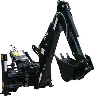 New EDGEˆ® In-Cab Backhoe Increases Operator Cycle Times and