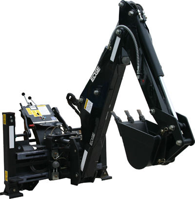 New EDGEˆ® In-Cab Backhoe Increases Operator Cycle Times and Productivity