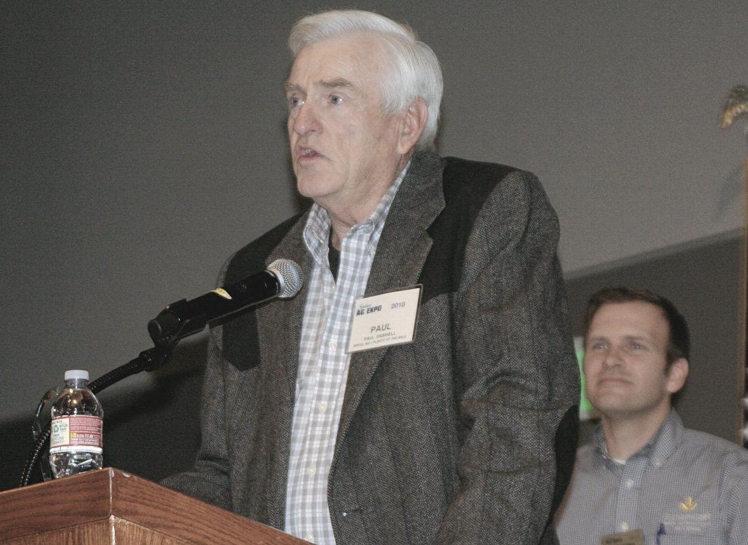 Spokane Ag Expo honors Riddle, Dashiell, Goldendale FFA