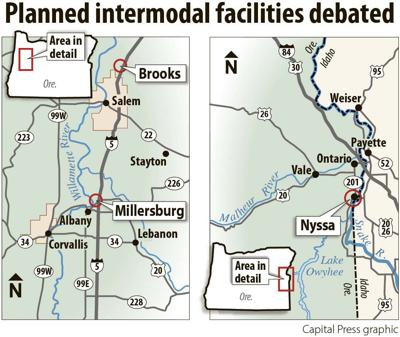 planned intermodal facilities
