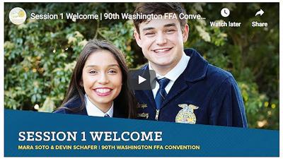 Washington FFA's virtual convention