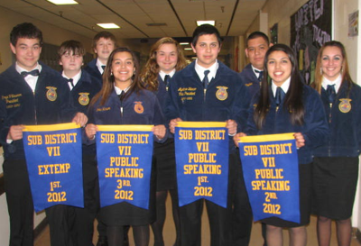 Chelan FFA Competitive at Sub District Leadership Events