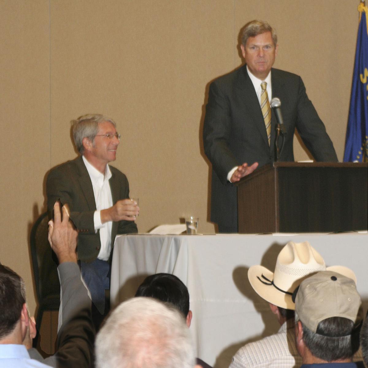 Ag secretary touts rural development in Oregon visit