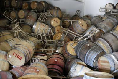 Earthquake shakes Napa Valley wineries