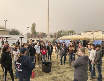 California FFA helps Camp Fire victims