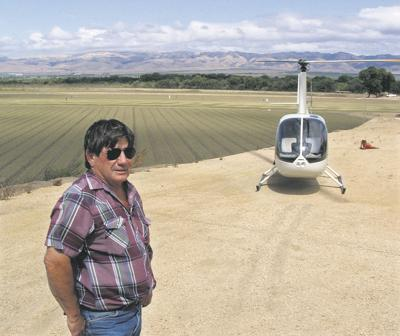 Grower hovers over ag issues