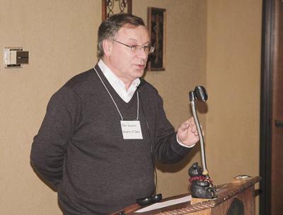 University of Idaho virologist Alexander Karasev