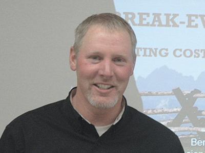 University of Idaho Extension economist Ben Eborn