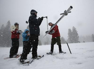 Huge snowpack prompts California officials to revisit drought status