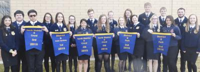 Quincy FFA goes to District IX LDEs