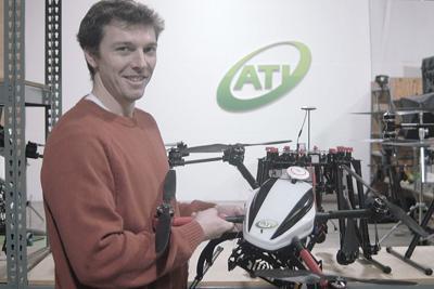 Drone company CEO envisions the future farm