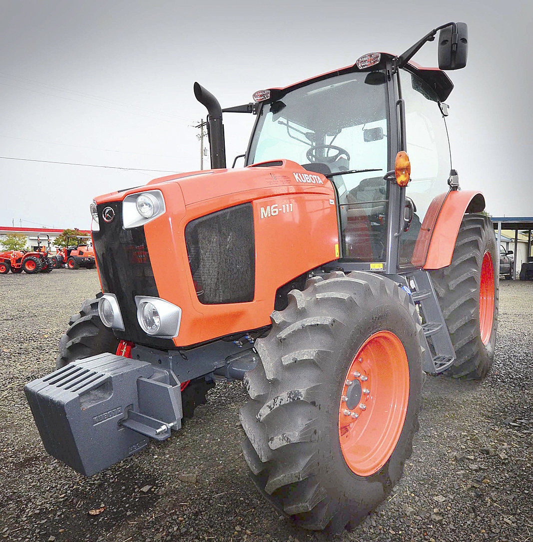 Linn Benton Tractor offers many lines of equipment