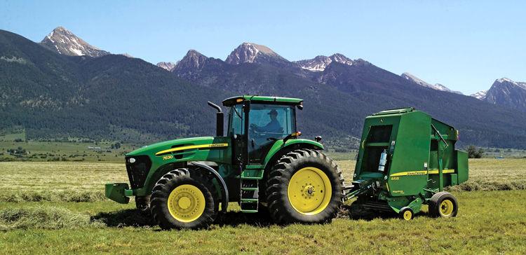Deere 2Q profit rises on improving equipment sales