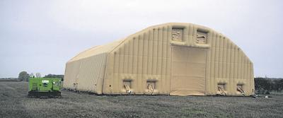 Inflatable cellar fails to raise interest