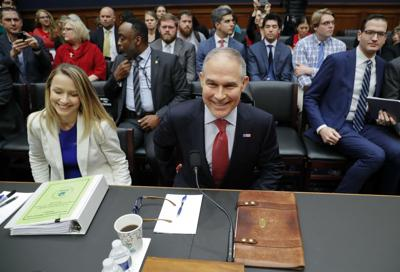 At hearings, EPA chief seeks to divert blame for ethics woes