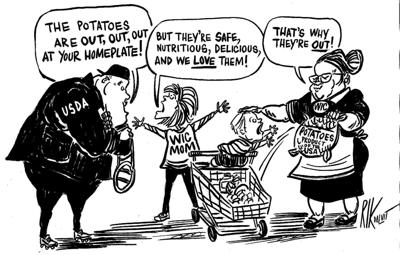 Tell USDA to let them eat potatoes
